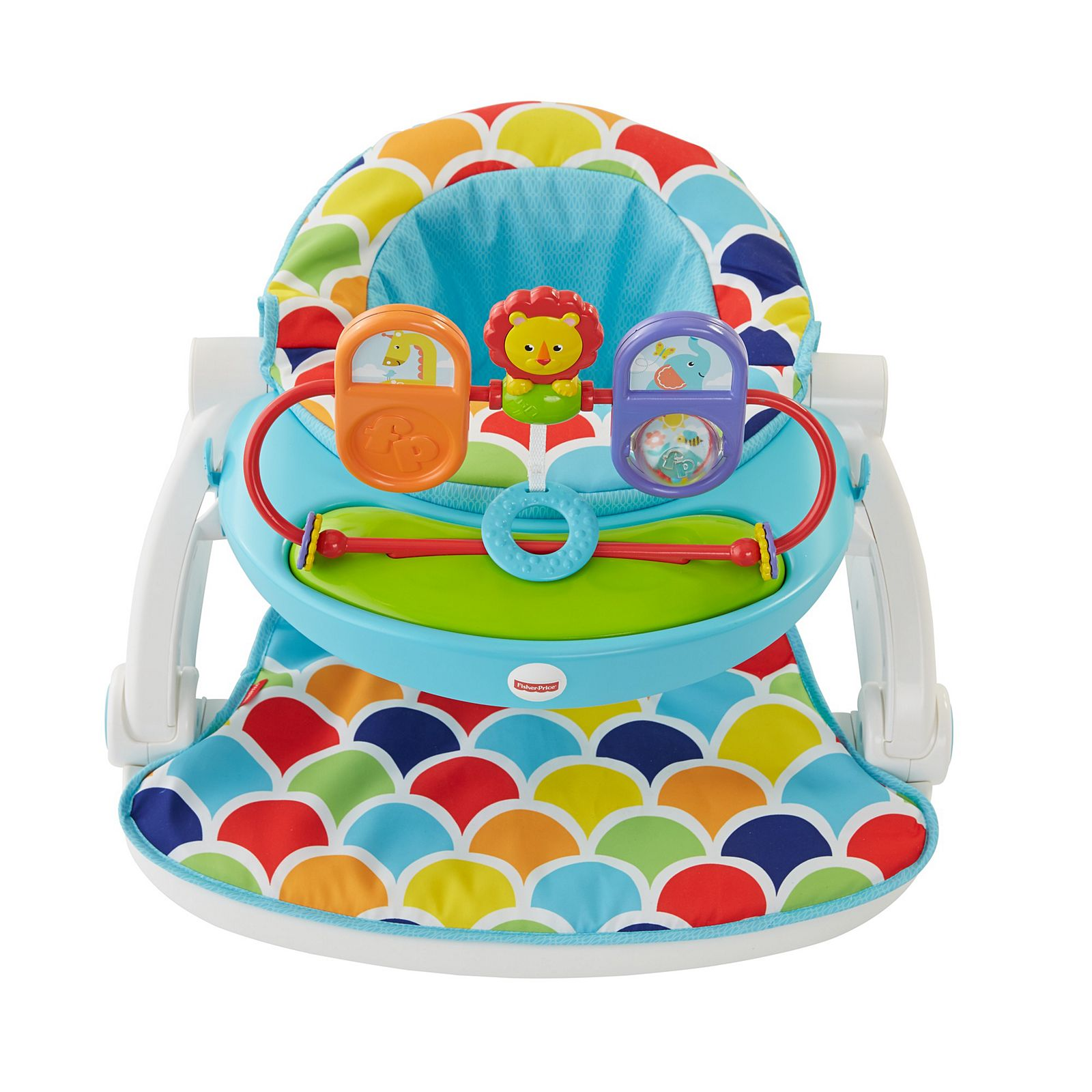 Sit Me Up Floor Seat With Toy Tray