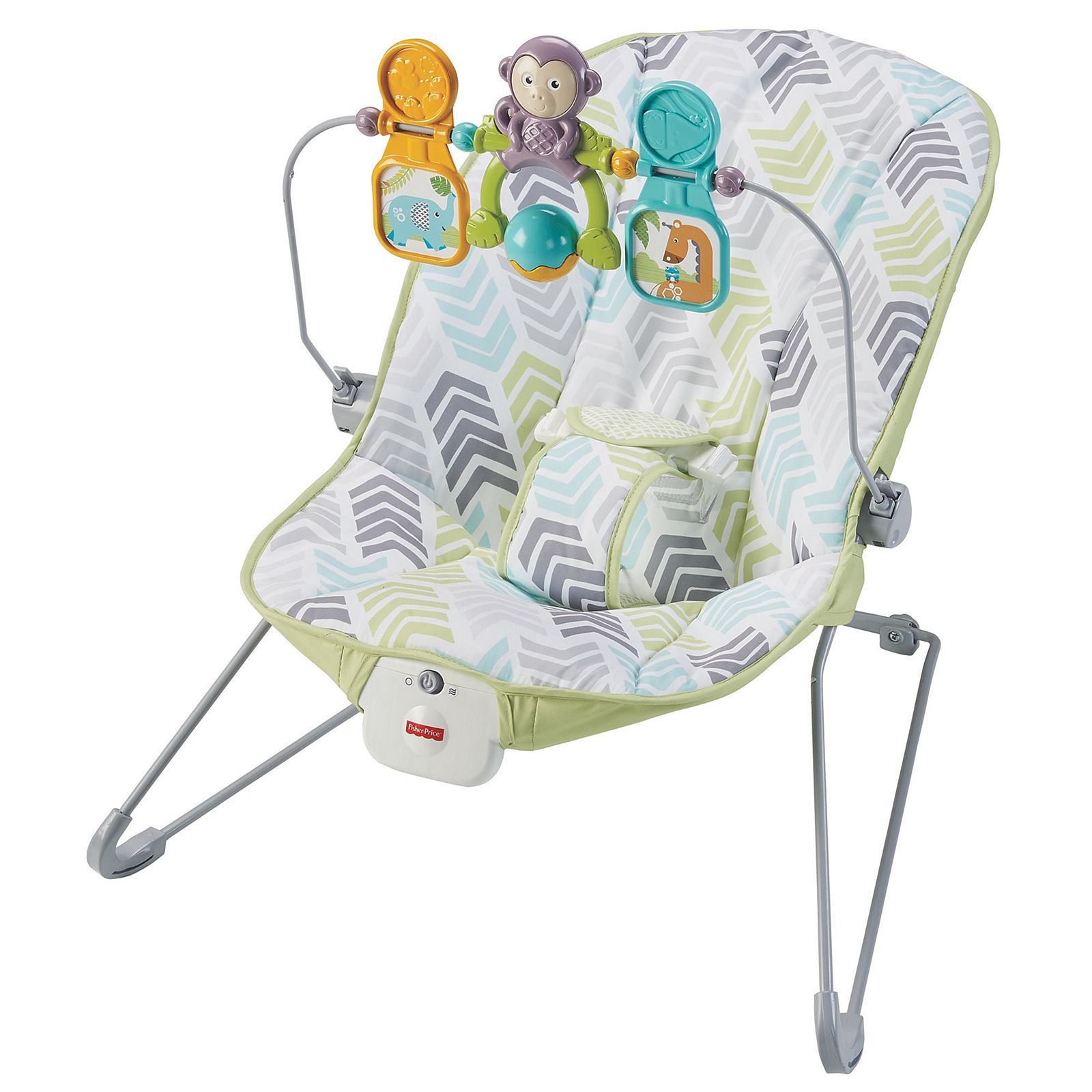 7dc6540e5 Fisher-Price® Silla Vibraciones Relajantes. Cuna Mecedora Fisher Price