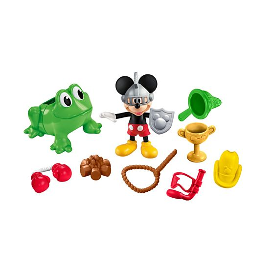 Casa Club de Mickey Mouse de Disney - Mickey Combinaciones Divertidas