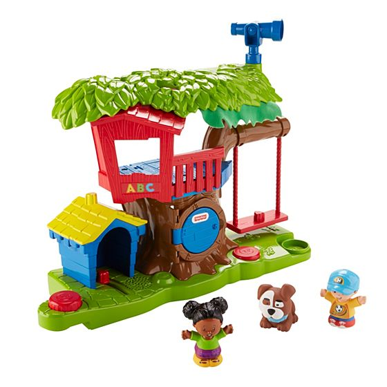 Benefits Musical Toys : Little people swing share treehouse shop