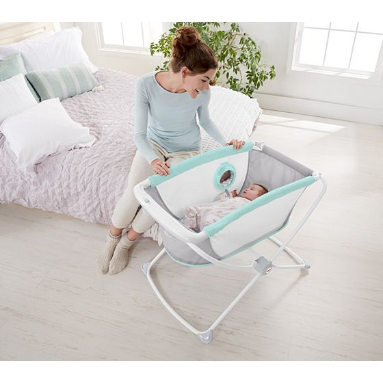 Deluxe Rock N Play Portable Bassinet