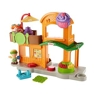 Little People® Swing & Share Treehouse - Shop Little People Toddler Toys | Fisher-Price