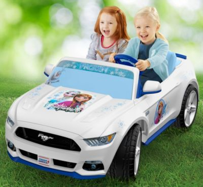 power wheels powered ride on cars \u0026 trucks for kids fisher pricepower wheels® smart drive™ disney frozen ford mustang