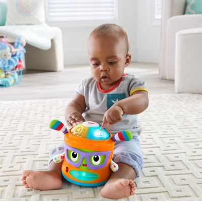 Bat-at floor toys Educational Toys for 7 Month Old Babies   Fisher-Price