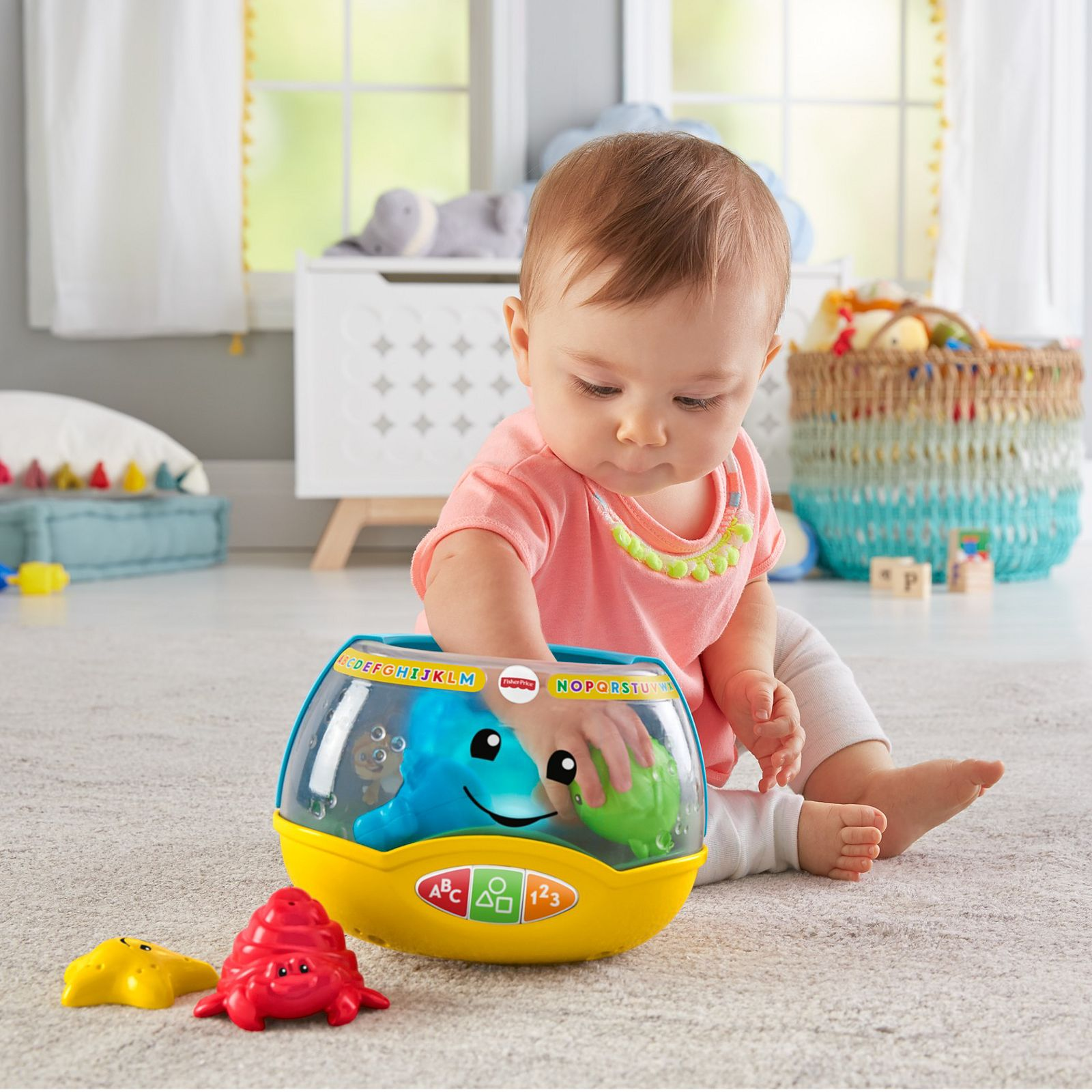 Fisher Price Laugh And Learn My Pretty Reading Lamp W/ Book Toddler Baby Musical Toys For Baby Developmental Baby Toys