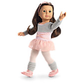 Ballet Class Outfit for 18-inch Dolls