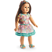 Bright Blooms Dress for 18-inch Dolls