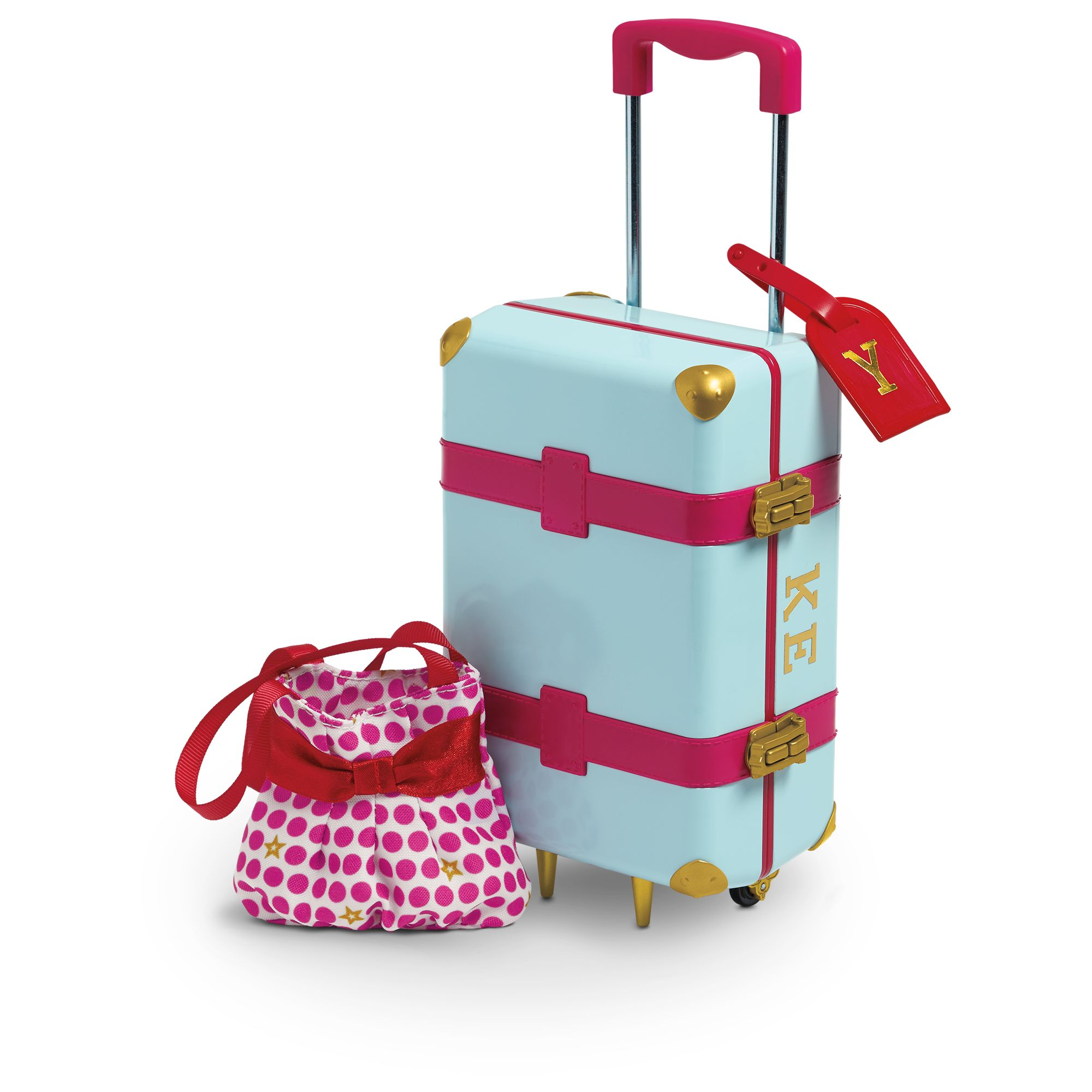 Travel In Style Luggage American Girl