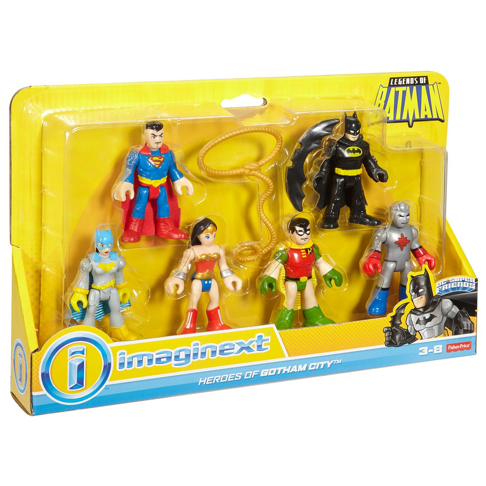 Super Batman Dc Imaginext® Of Friends™ Legends wN8nm0