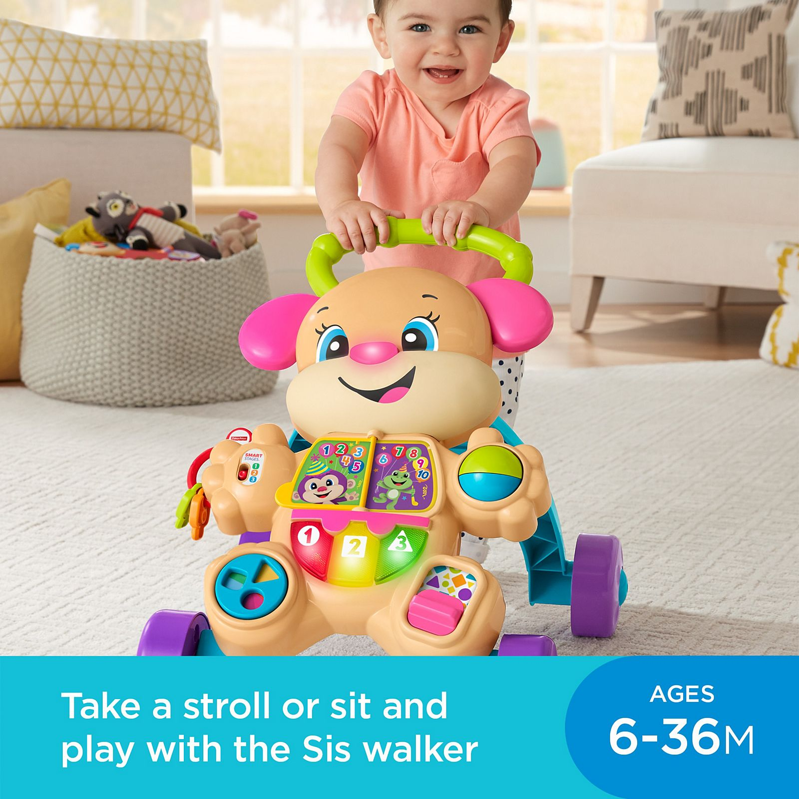 c566eab9d80 Laugh & Learn® Smart Stages™ Στράτα με Σκυλάκι