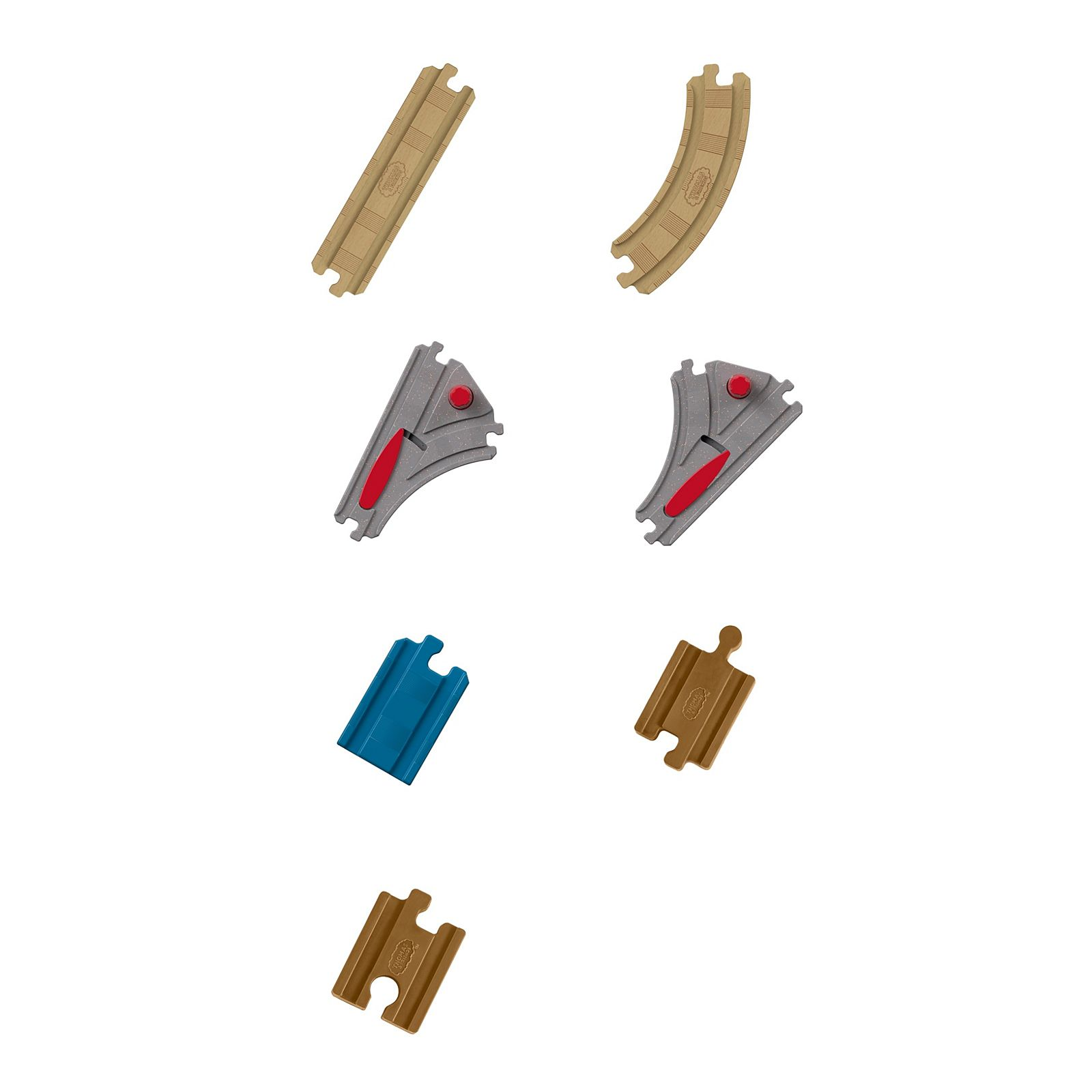 New Thomas /& Friends Expansion Wood Track Pack