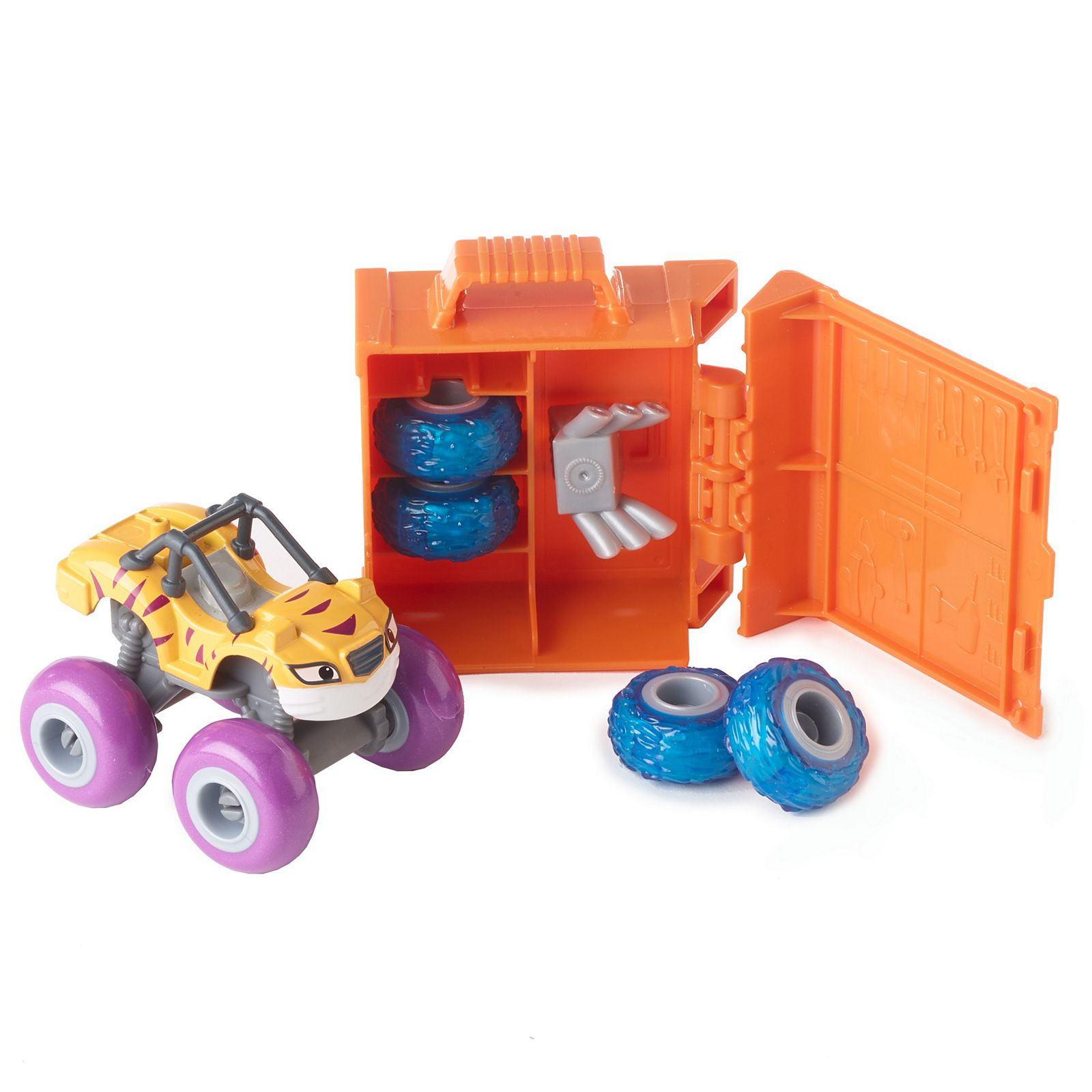 ca511a69a1 Fisher-Price® Nickelodeon™ Blaze and the Monster Machines™ TUNE UP TIRES  STRIPES