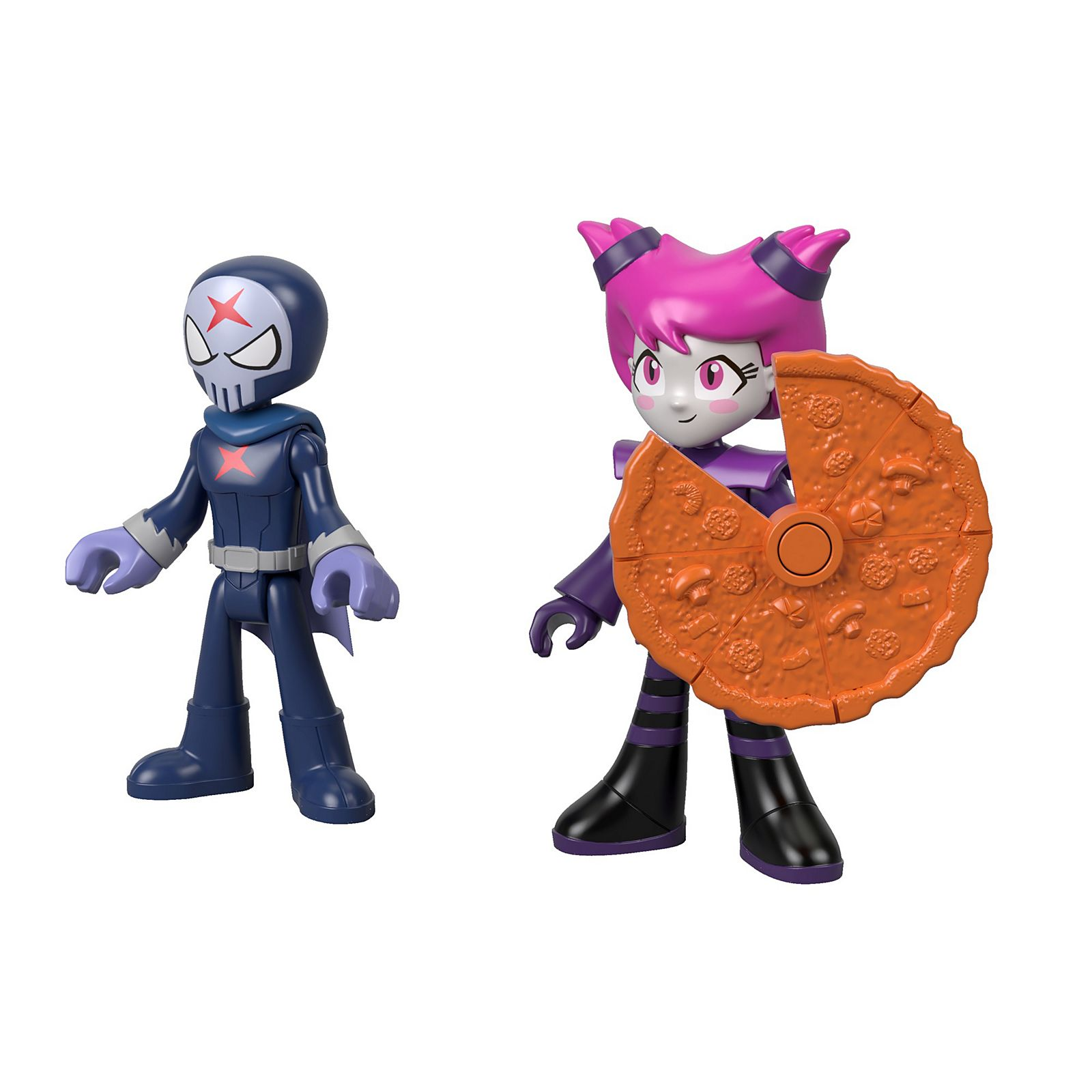 Imaginext Teen Titans Go Red X Jinx