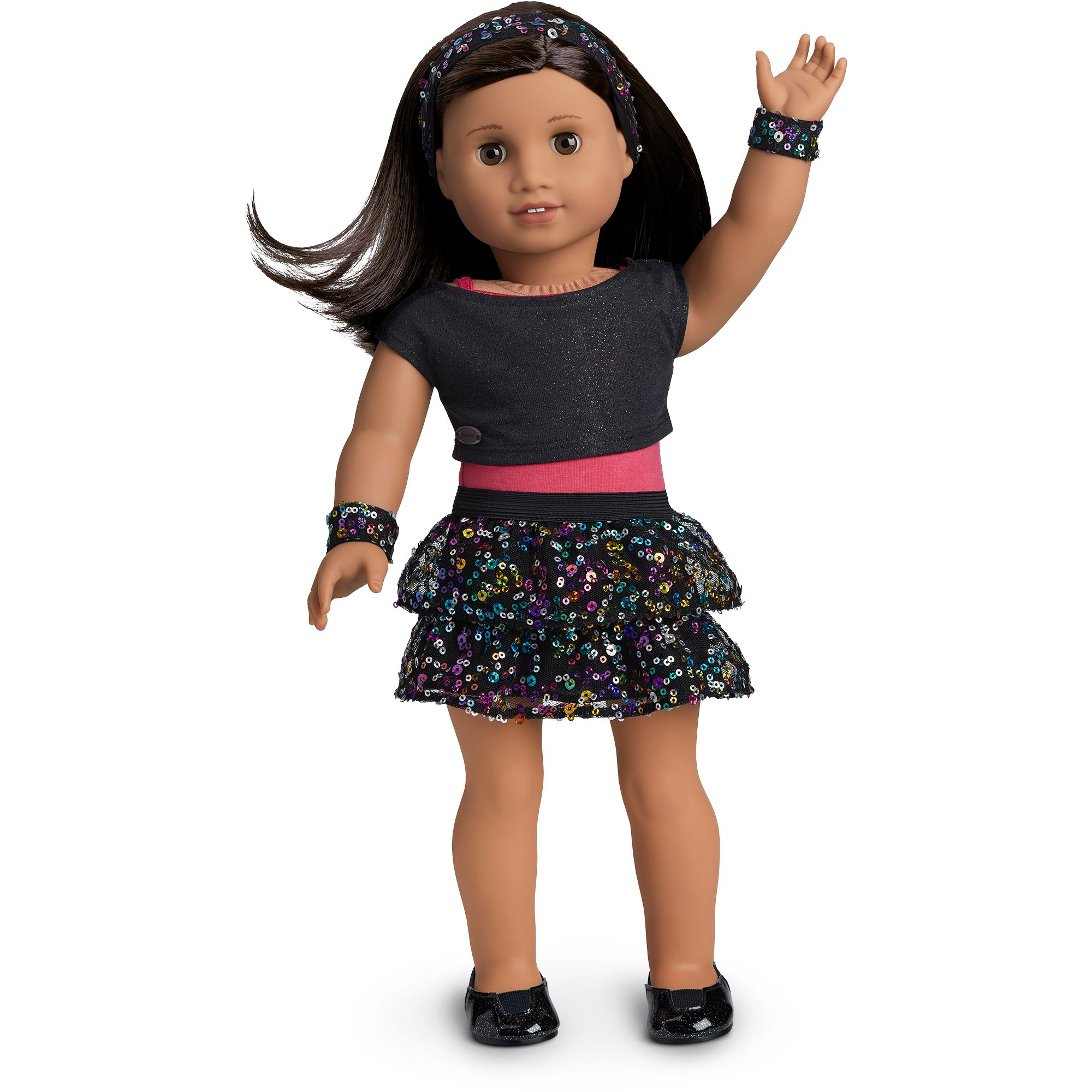 Sparkling Star Dance Outfit for 5-inch Dolls