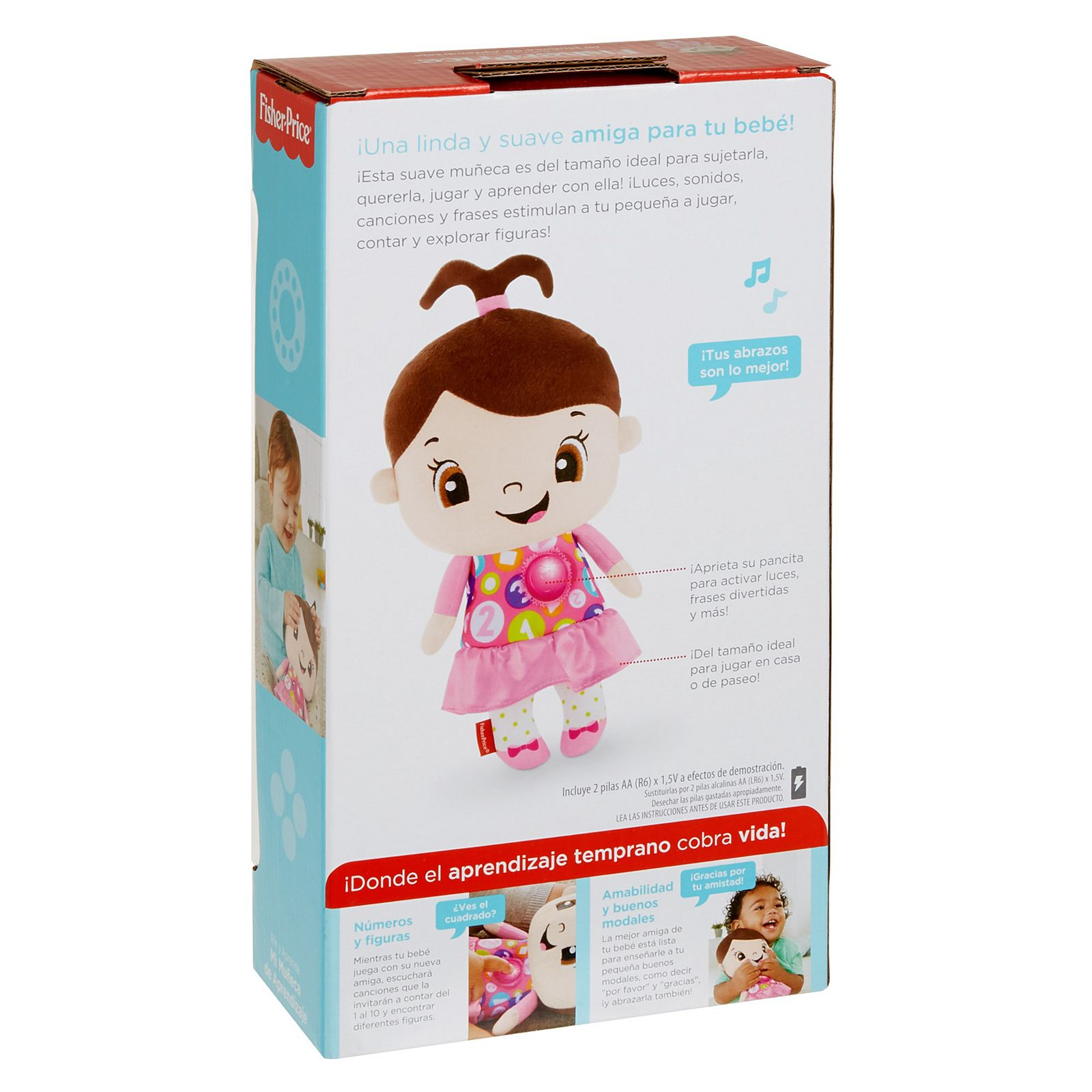 Laugh Learn My Learning Doll Girl