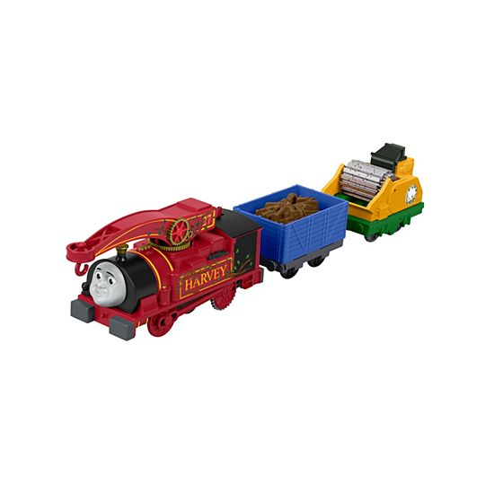 Thomas friends trackmaster helpful harvey for Thomas friends trackmaster motorized railway