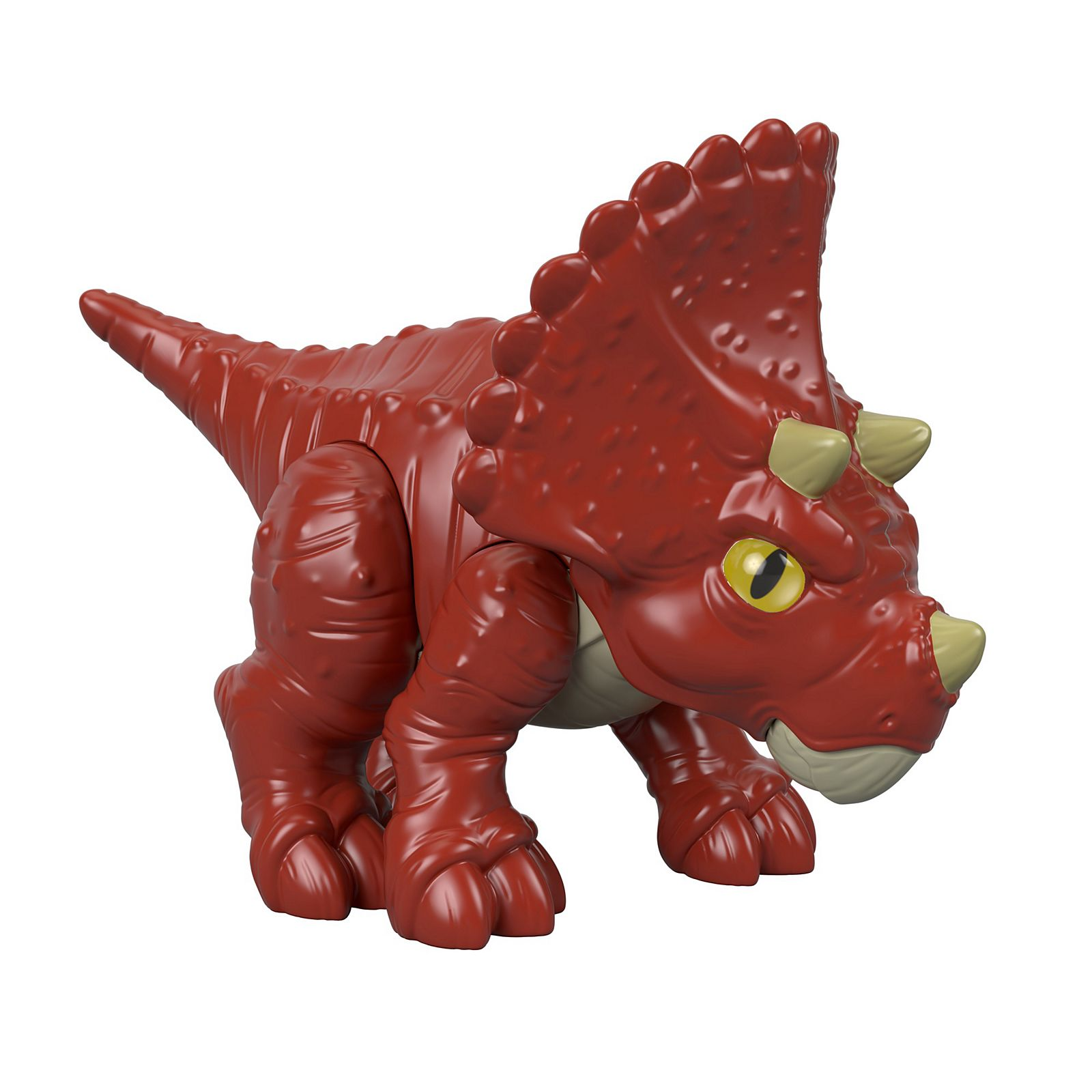 Imaginext Jurassic World Triceratops They first appeared during the triassic period, between 243 and 233.23 million years ago. imaginext jurassic world triceratops