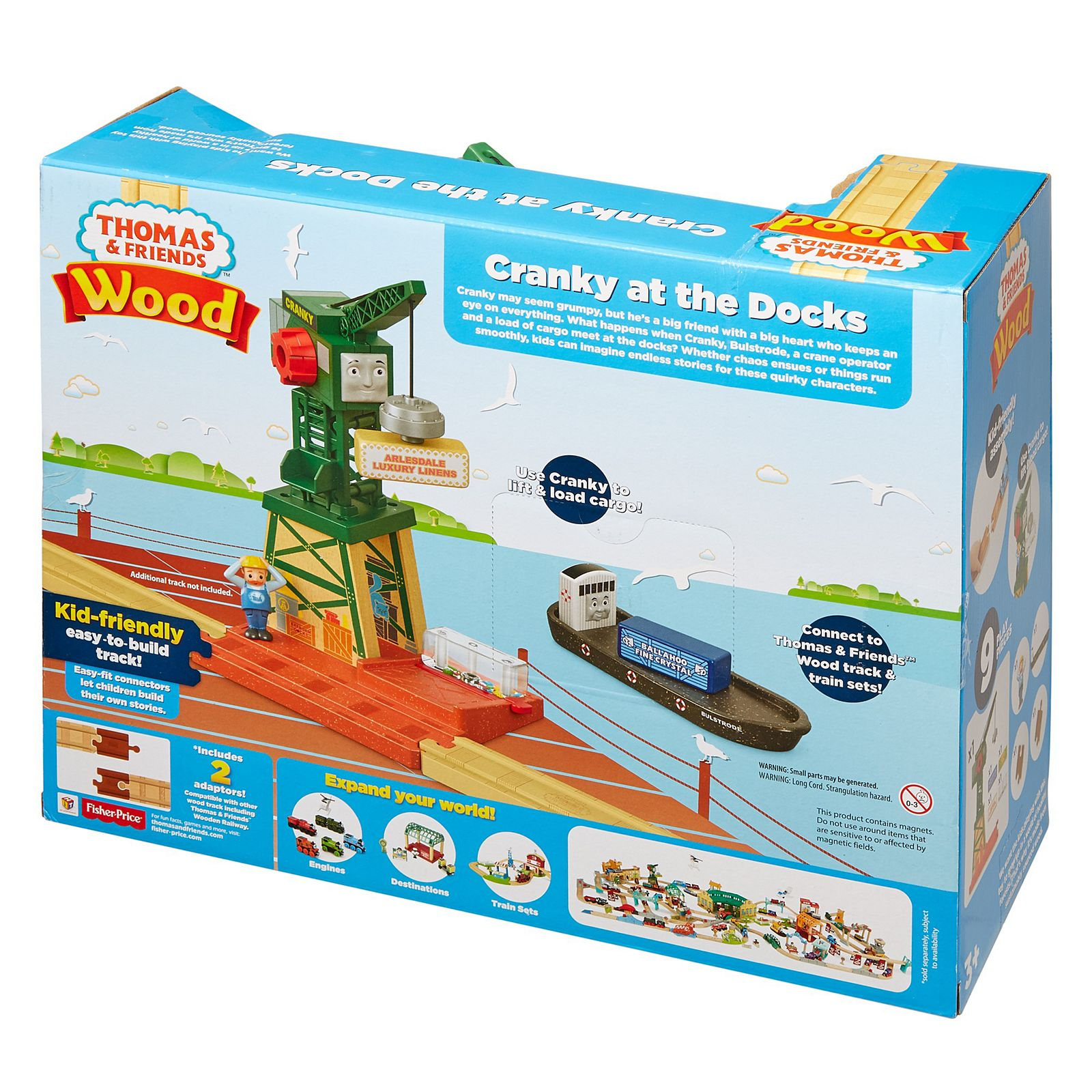 Fisher-Price® Thomas & Friends™ Wood Cranky at the Docks