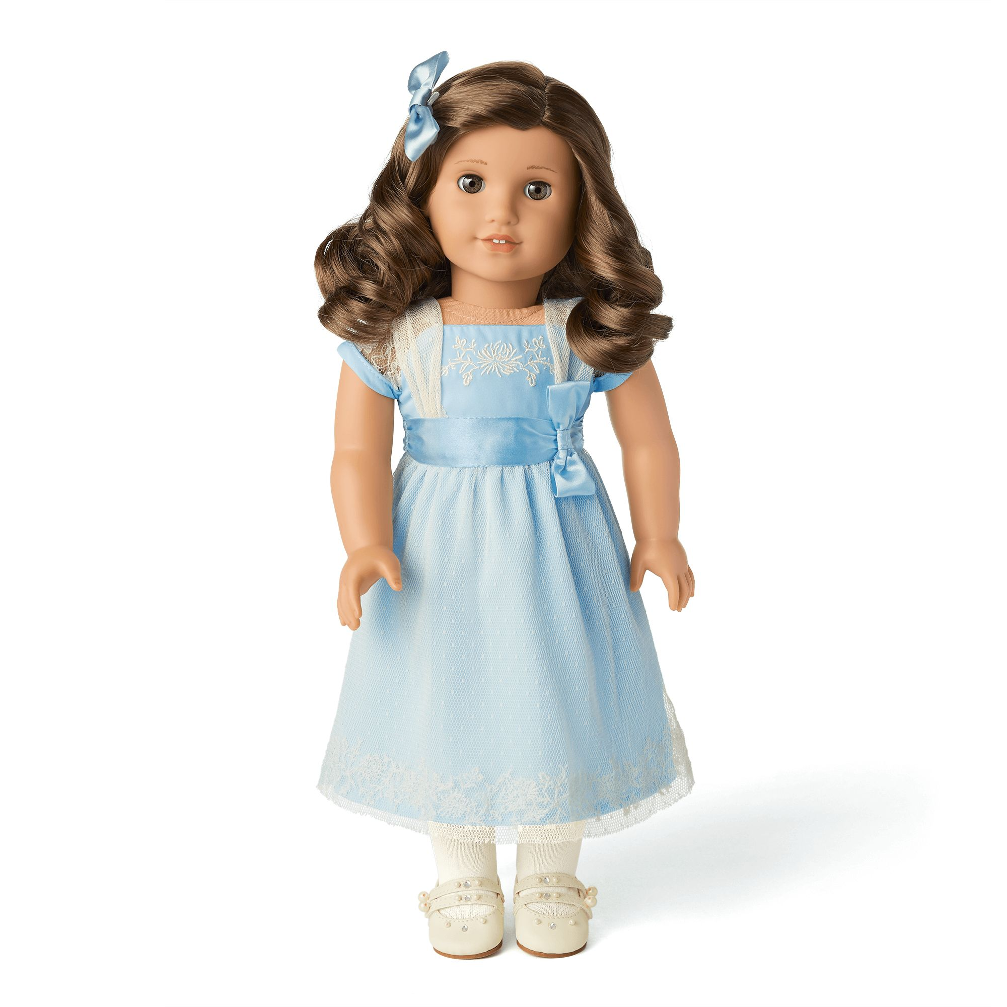 Rebecca's Hanukkah Outfit for 5-inch Dolls