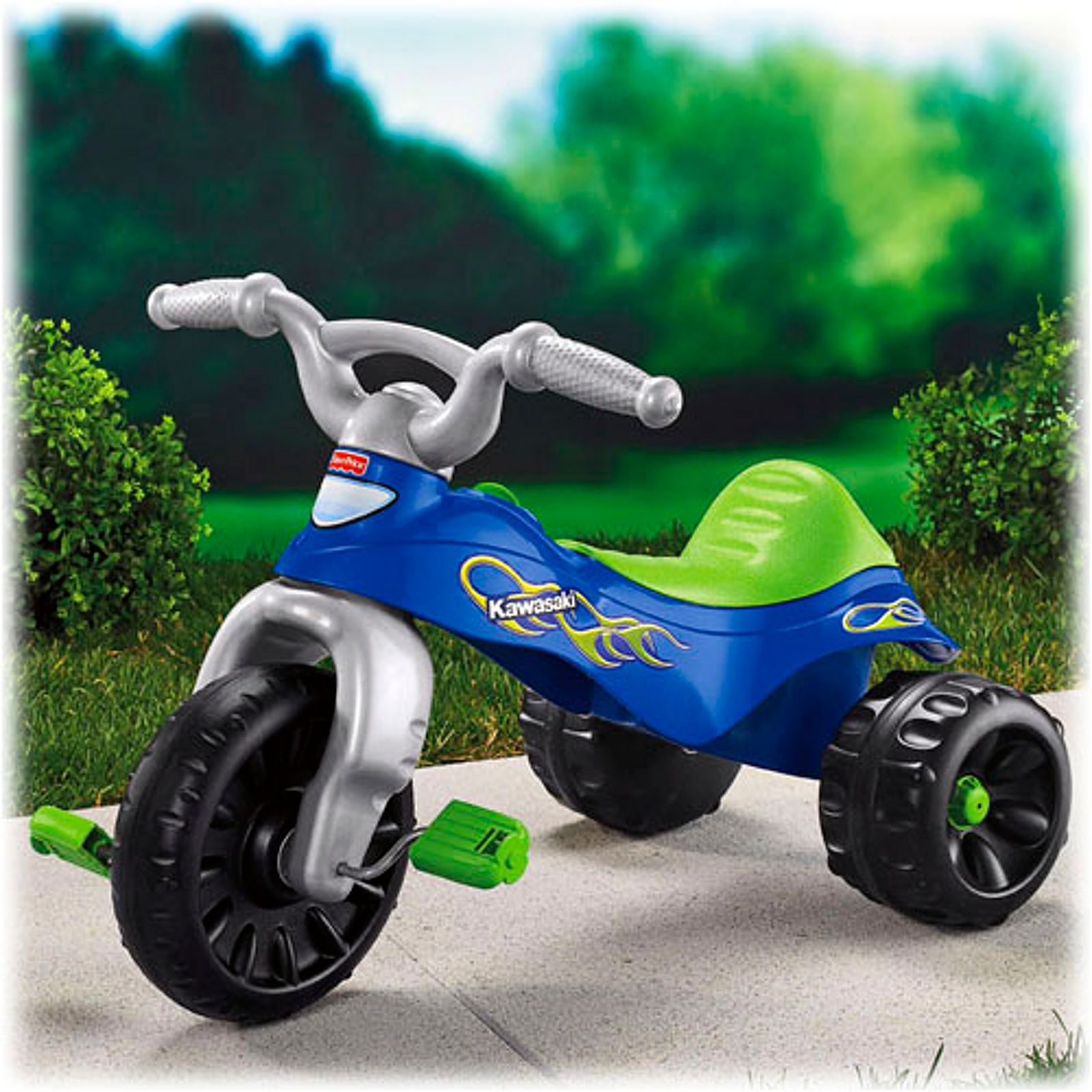 Kawasaki Tough Trike Fisher Price Harley Davidson Ride On
