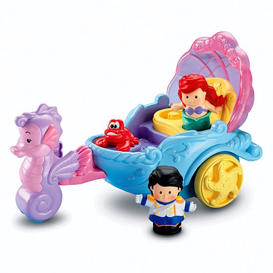 Little People® Disney Ariel's Coach - Shop Little People ...