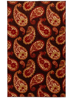 Mohawk Home Aurora Lovely Paisley Warm
