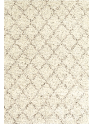 Karastan Prima Shag Temara Lattice Brown