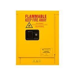 4 Gallon Flammable Storage with Manual Door