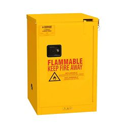 4 Gallon Flammable Storage with Self-Closing Door