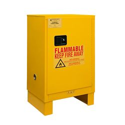 12 Gallon Flammable Storage with Manual Door
