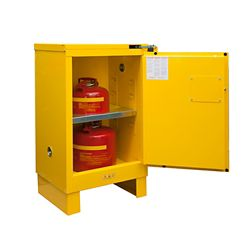 12 Gallon Flammable Storage with Self-Closing Door