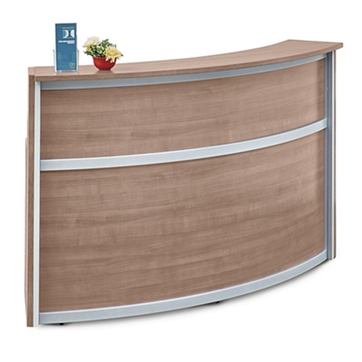 "Compass Reception Desk - 72""W x 30""D"