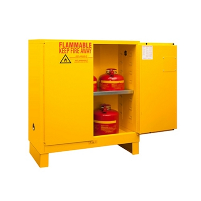 30 Gallon Flammable Storage with Manual Door