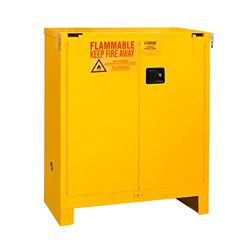 30 Gallon Flammable Storage with Self-Closing Door