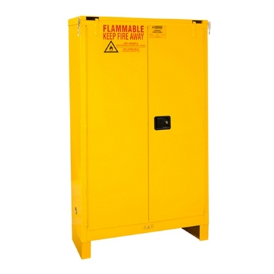45 Gallon Flammable Storage with Self-closing Door