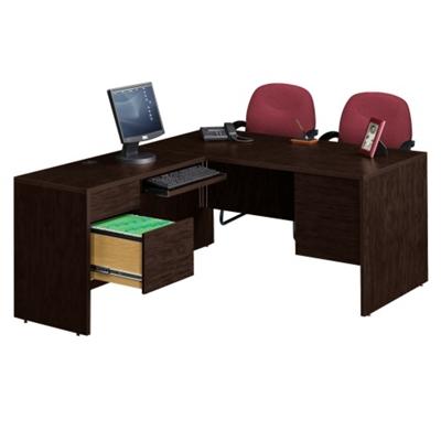 L-Desk with Left Return