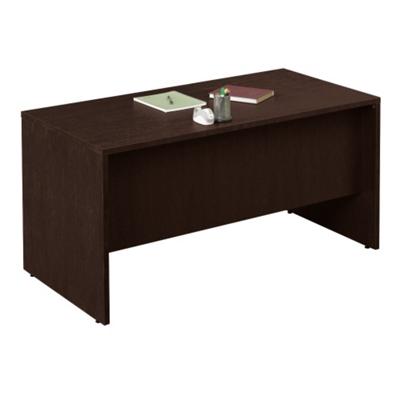 """60""""W x 30""""D Compact Double Pedestal Desk"""