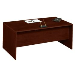 "72""W x 36""D Double Pedestal Executive Desk"