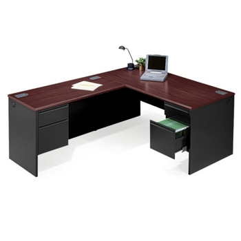 commercial desk drawers file box pedestal staples series double office cat splssku desks hon