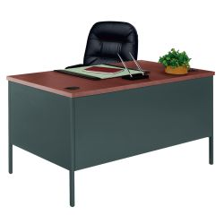 "Steel Executive Desk - 60"" x 30"""