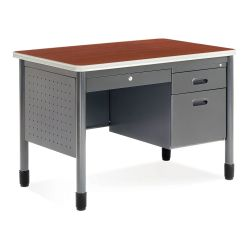 "42"" Compact Single Pedestal Desk"