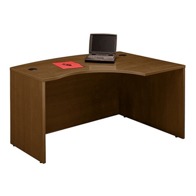 Bow Front Right L-Desk Shell