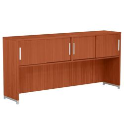 Hutch with Four Sliding Doors