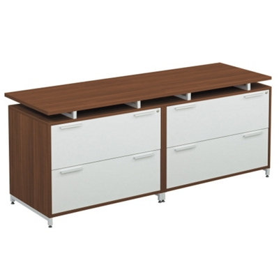 Double Lateral File Credenza