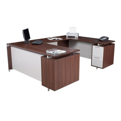 Flush-Top U Desk