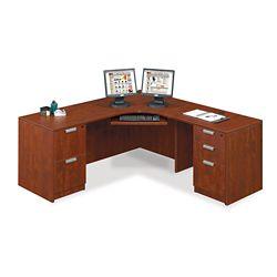"""Contemporary Corner L-Desk - 71"""" x 71"""""""