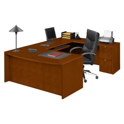 Fairbanks Bowfront U-Desk