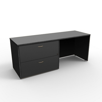 """Left Lateral File Credenza - 72""""W x 24""""D"""