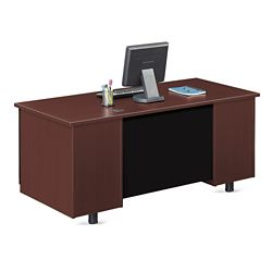 "Ascend Single Pedestal Computer Desk - 66""W"
