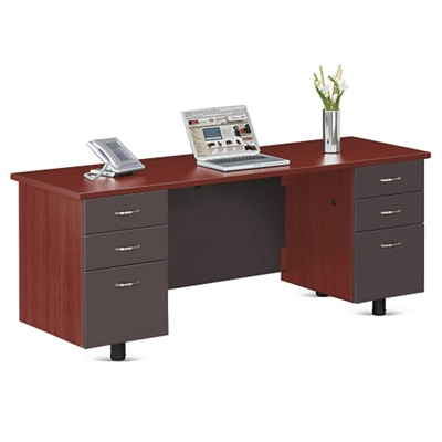 "Ascend Double Pedestal Executive Credenza - 72""W"